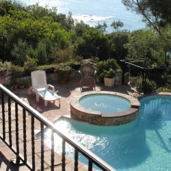 La vue sur la piscine
