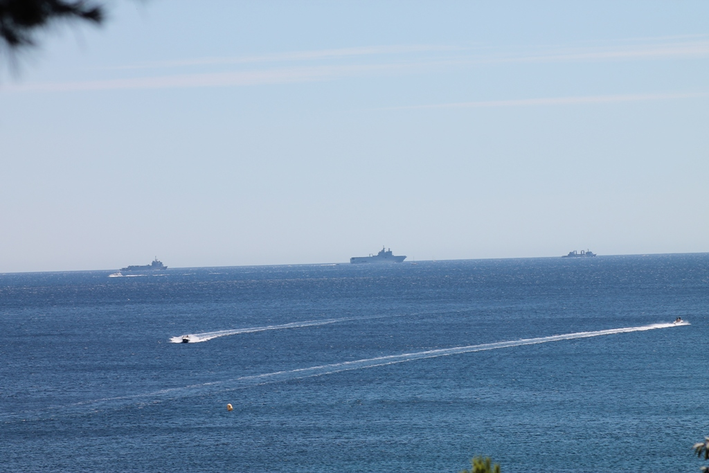 La parade sur la méditerranée en 2014