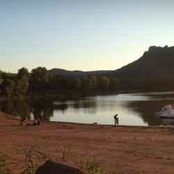 Roquebrune/Argens lake
